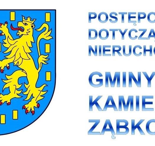 01_Postępowania dotyczące nieruchomości Gminy Kamieniec Ząbkowicki