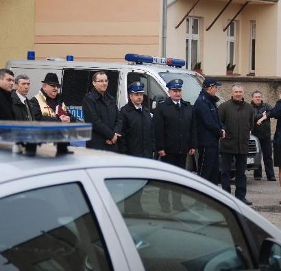 Nowy radiowóz Policji w Kamieńcu Ząbkowickim