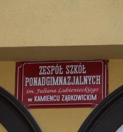 Stanowisko władz Powiatu Ząbkowickiego w sprawie Zespołu Szkół Ponadgimnazjalnych im Juliana Lubienieckiego w Kamieńcu Ząbkowickim