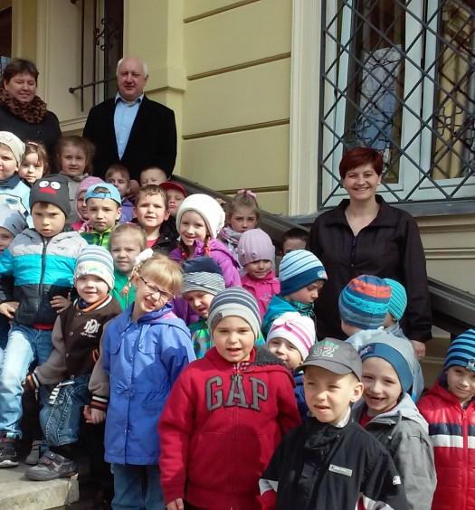 Najmłodsi obywatele w Urzędzie Gminy (1)