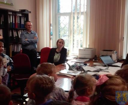 Najmłodsi obywatele w Urzędzie Gminy (3)