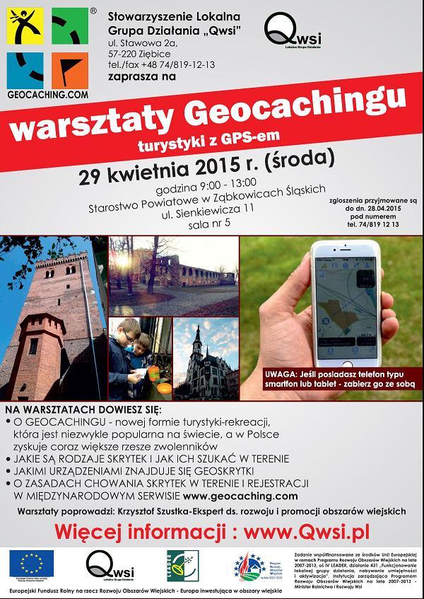 Warsztaty Geocachingu turystyki z GPSem