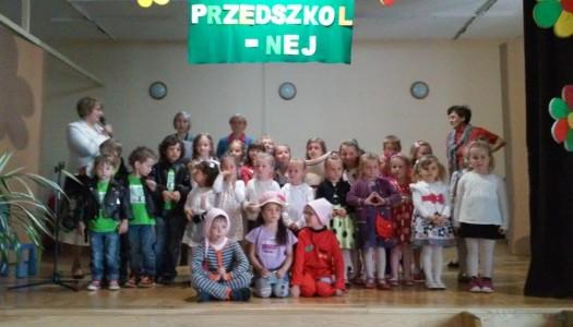 Festiwalowe śpiewanie przedszkolaków