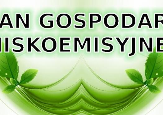 Plan gospodarki niskoemisyjnej w Gminie Kamieniec Ząbkowicki