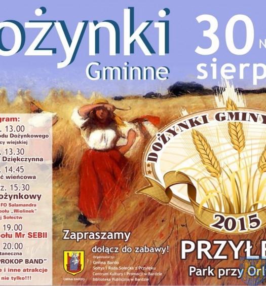 Bądź na dożynkach gminnych w Przyłęku