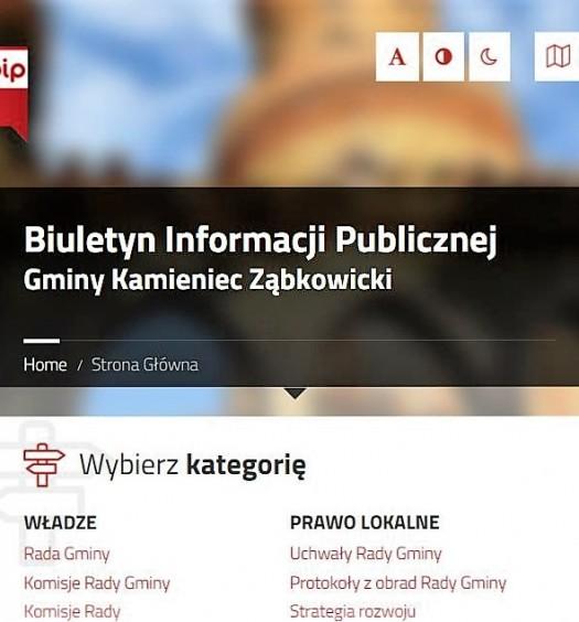 Nowy Biuletyn Informacji Publicznej