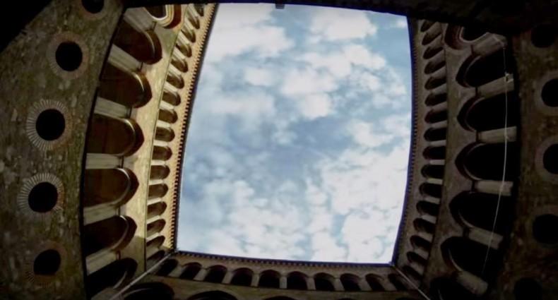 Lot nad Pałacem Księżnej Marianny