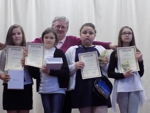 Nasze utalentowane uczennice (8a)