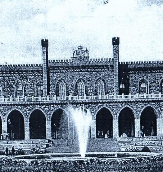Odnowienie fontanny pałacowej przetarg