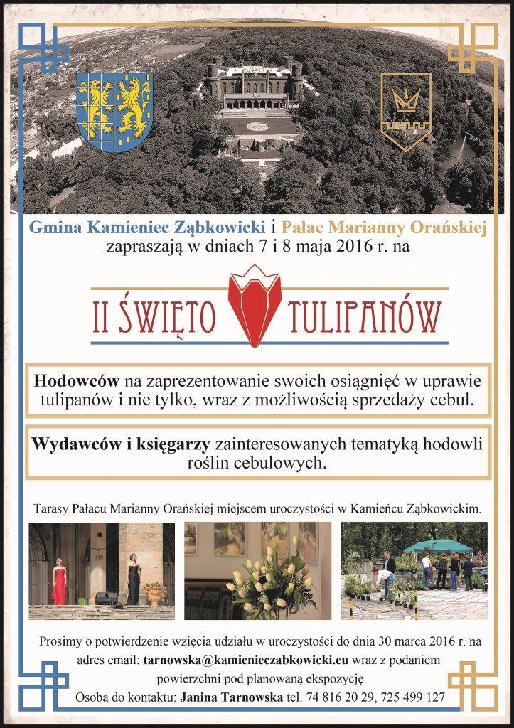 II Święto Tulipanów w Kamieńcu Ząbkowickim_01