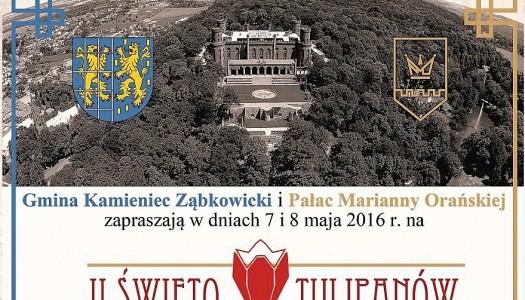 II Święto Tulipanów w Kamieńcu Ząbkowickim