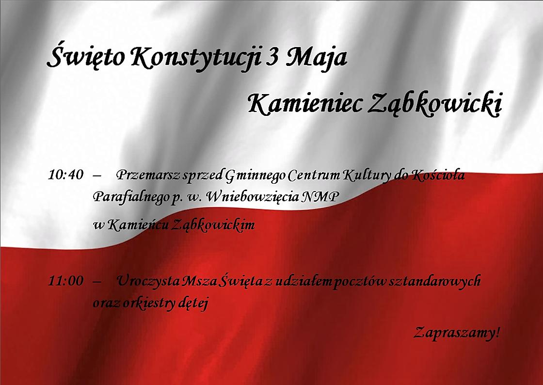 Święto Konstytucji 3 Maja w naszej Gminie_01