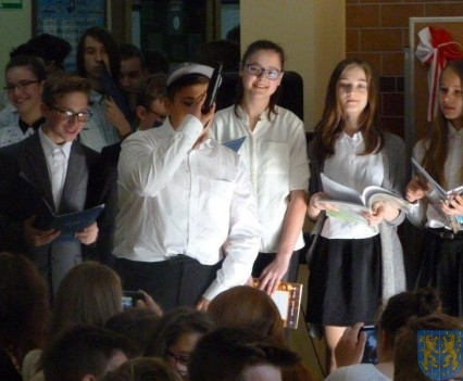 Majowe świętowanie w kamienieckim gimnazjum (10)