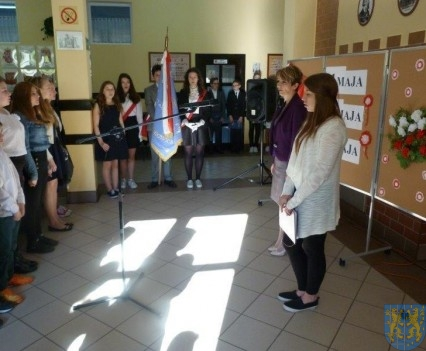 Majowe świętowanie w kamienieckim gimnazjum (2)