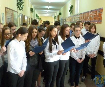 Majowe świętowanie w kamienieckim gimnazjum (5)