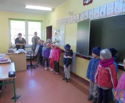 Przedszkolaki poszły do szkoły (2)