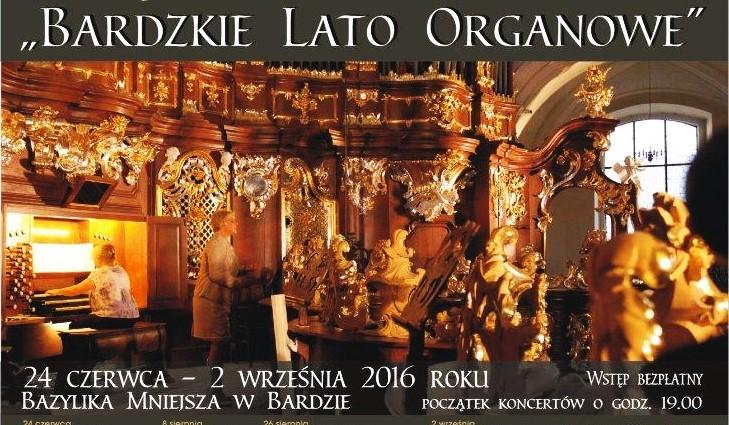 Bardzkie Lato Organowe kolejny koncert_