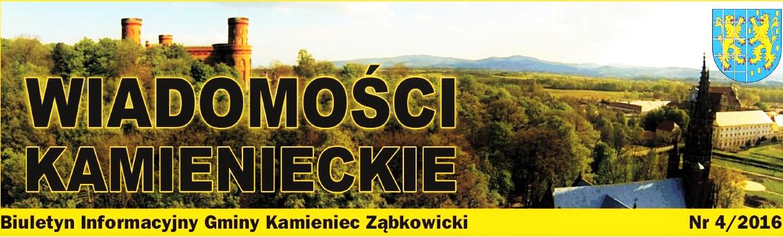 Wiadomości Kamienieckie 4_2016