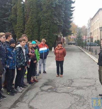 Niecodzienna lekcja wizyta w Straży Granicznej (2)