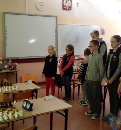 Szachowe Mistrzostwa Szkoły w Jedynce (1)