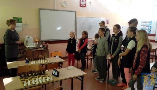 Szachowe Mistrzostwa Szkoły w Jedynce