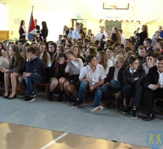 Mickiewicz uczy i bawi dzień Patrona Gimnazjum (1)