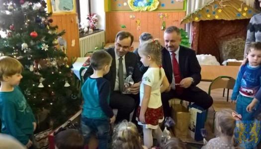 Niecodzienni goście wśród przedszkolaków