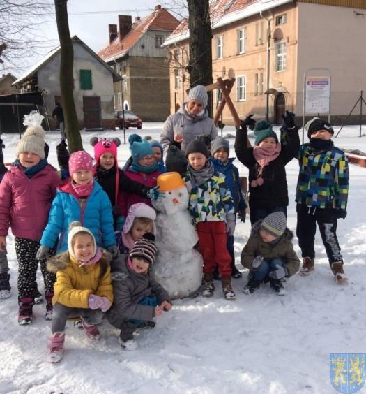 Zimowe zabawy przedszkolaków (2)