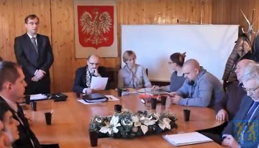 Sesja Rady Gminy Kamieniec Ząbkowicki XII 2016 (30.12.2016) [VIDEO]