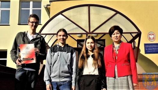 Sukces Łukasza Jednaka w XVI Powiatowym Konkursie Ortograficznym