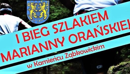 Bieg Szlakiem Marianny Orańskiej – weź udział!