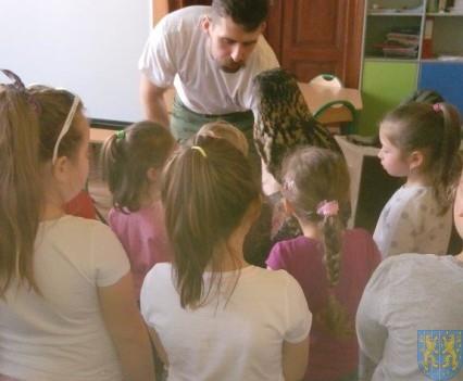 Dzikie zwierzątka z wizytą w  przedszkolu (11)