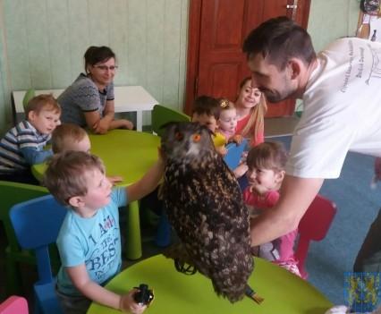 Dzikie zwierzątka z wizytą w  przedszkolu (15)