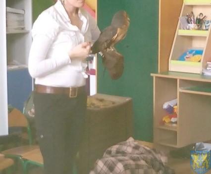 Dzikie zwierzątka z wizytą w  przedszkolu (5)