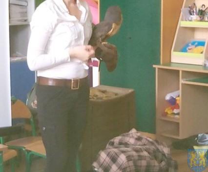 Dzikie zwierzątka z wizytą w  przedszkolu (6)