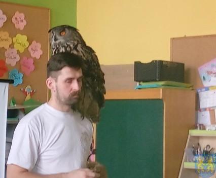 Dzikie zwierzątka z wizytą w  przedszkolu (9)
