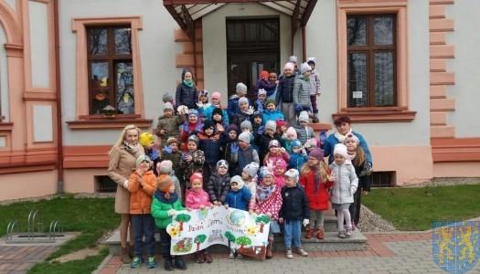 Przedszkolaki obchodziły Dzień Ziemi