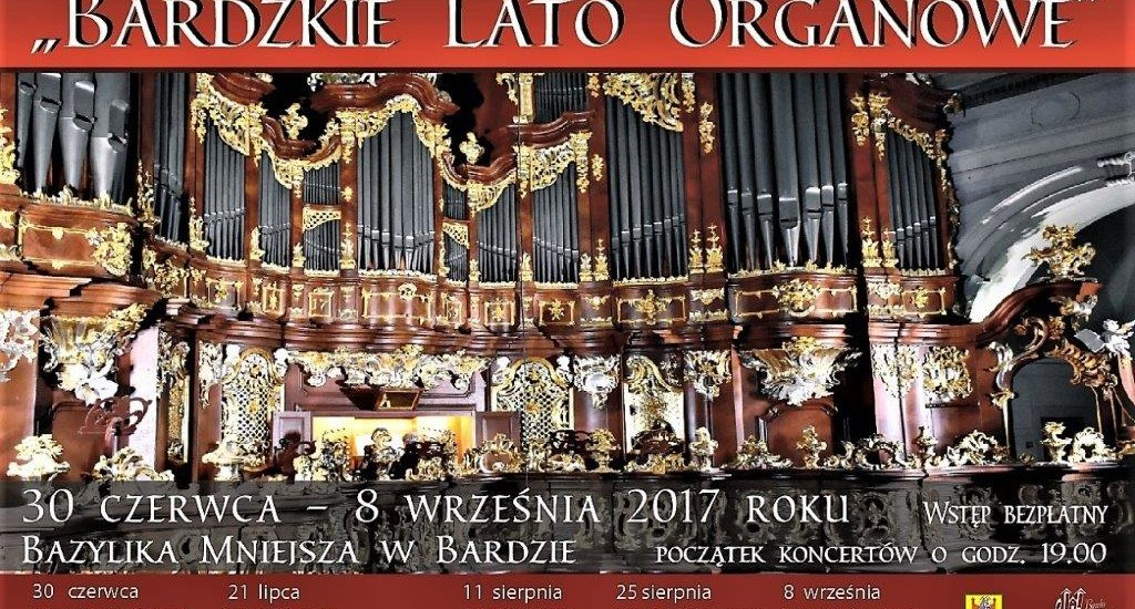 Bardzkie Lato Organowe dzisiaj kolejny koncert