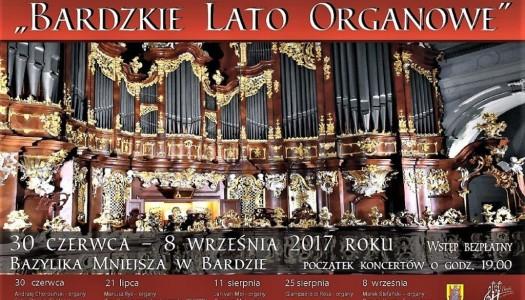 Bardzkie Lato Organowe – dzisiaj kolejny koncert