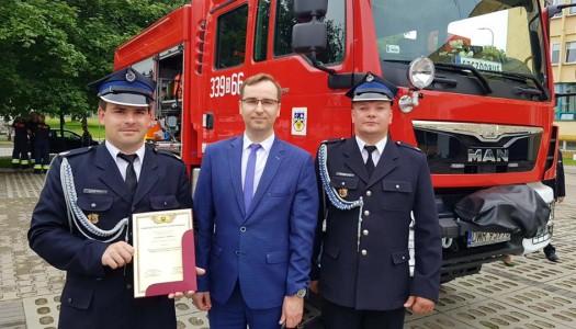 Wsparcie dla Ochotniczej Straży Pożarnej