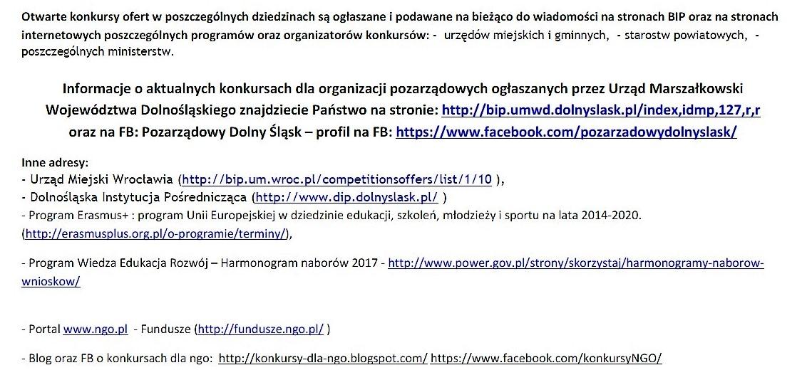 Nowe konkursy dla organizacji pozarządowych_11