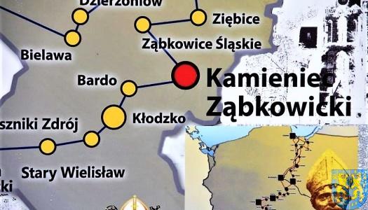 Kamieniec Ząbkowicki na szlaku Świętego Wojciecha – ZOBACZ ZDJĘCIA