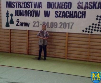 Szachistka z Kamieńca na mistrzostwach Dolnego Śląska (2)