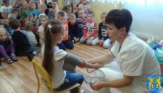 """Wizyta pielęgniarki w """"Baśniowej Krainie"""""""
