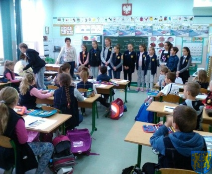Nowy Zarząd Samorządu Uczniowskiego w Szkole Podstawowej nr 2 (10)