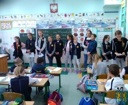 Nowy Zarząd Samorządu Uczniowskiego w Szkole Podstawowej nr 2 (11)