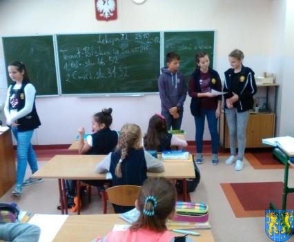Nowy Zarząd Samorządu Uczniowskiego w Szkole Podstawowej nr 2 (42)