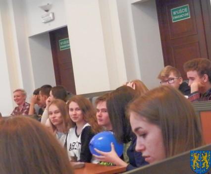 Lekcja  wiedzy o społeczeństwie w Urzędzie Marszałkowskim (10)