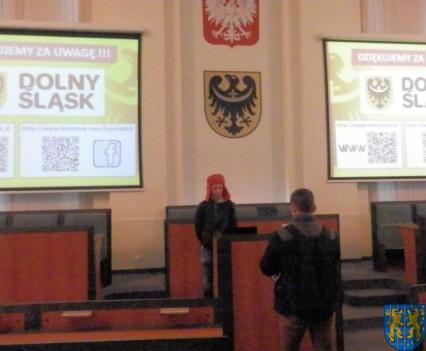 Lekcja  wiedzy o społeczeństwie w Urzędzie Marszałkowskim (12)