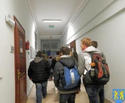 Lekcja  wiedzy o społeczeństwie w Urzędzie Marszałkowskim (4)